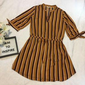 Hint Of Blush Dress Size Large, EUC, Orange